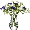LSA Flower Posy Vase TLA1978 G584-18-301【フラワーベース 花器 花瓶 花びん 花材 資材 ガラス雑貨 インテリア雑貨 …
