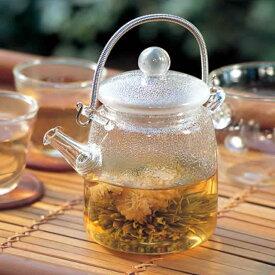 【取り寄せ商品】M.STYLE ガラス茶器 アジアン急須 筒型【中国製】 486QSA-1SV【茶器 アジアン 中国茶 台湾 ティータイム】
