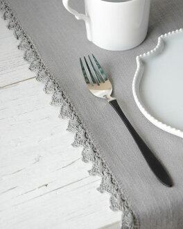 Table runner COCO cement 642934107 LENE BJERRE DESIGN