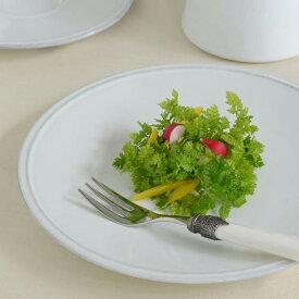 FRISO WHITE フリッソ サラダプレート FIP221W【COSTA NOVA コスタノバ ポルトガル 輸入洋食器 陶磁器 白い食器 おしゃれ おもてなし 食洗機可 電子レンジ可 パーティー 日常使い 業務用】