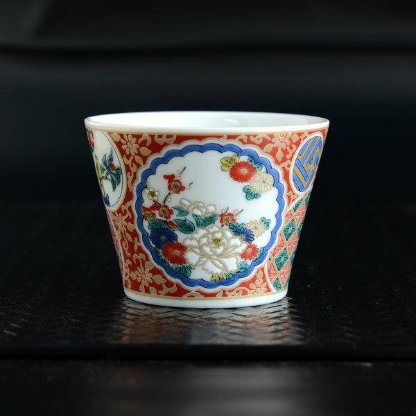 十趣杯 庄三 SK337【九谷焼 青郊窯 和食器 蕎麦猪口 そばちょこ フリーカップ おしゃれ 日本製 磁器 和モダン MADE IN JAPAN】