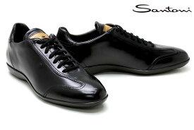 サントーニ / Santoni メンズ ドレスシューズ b35abk サントーニ/レザースニーカー ブラック