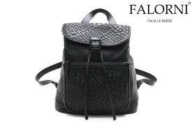 ファロルニ / FALORNI バッグ f22bk レザーリュック ブラック イタリア製