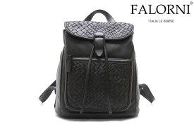 ファロルニ / FALORNI バッグ f22dbr レザーリュック ダークブラウン イタリア製