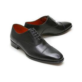 [SALE]ビジネスシューズ 本革 ストレートチップ キャップトゥ ドレス メンズ ブラック フウガシン/ FUGASHIN メンズ ドレスシューズ FDM4201bk キャップトゥ