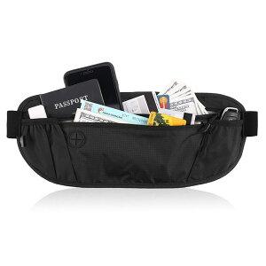 セキュリティポーチ スキミング防止 ポーチ 海外旅行 便利グッズ ウェストポーチ ベルトポーチ メンズ レディース ウエストポーチ ショルダーバッグ パスポートケース うえすとぽーち 財布