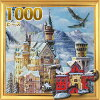 Castle in winter Europe tour spot building landscape puzzle size 735 x 510 mm accessories (puzzle / puzzle liquid (with a spatula) and actual poster) (A-1138) (art chamber)