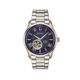 BULOVA ブローバ クラシックモデル ウィルトン 自動巻き メンズ腕時計 送料無料 96A218 ラッピング無料 あす楽