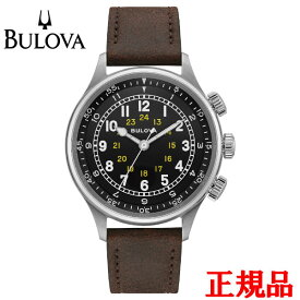BULOVA ブローバ Military 自動巻き メンズ腕時計 送料無料 96A245 ラッピング無料 あす楽