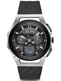 国内正規品 BULOVA ブローバ カーブ クロノグラフ メンズ腕時計 送料無料 98A161 ラッピング無料