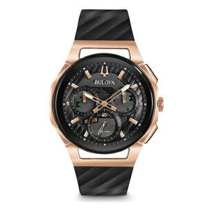 【送料無料】国内正規品BULOVA[ブローバ]ClassicCURV98A185メンズ腕時計【RCP】【02P05Sep15】