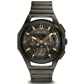 国内正規品 BULOVA ブローバ CURV カーブ クロノグラフ メンズ腕時計 ハイパフォーマンスクォーツ 送料無料 98A206 ラッピング無料 あす楽