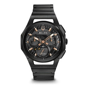 BULOVA ブローバ CURV カーブ クロノグラフ メンズ腕時計 ハイパフォーマンスクォーツ 送料無料 98A207 ラッピング無料 あす楽