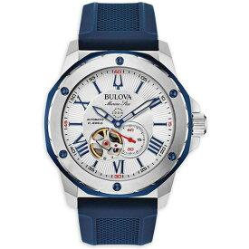 正規品 BULOVA ブローバ マリンスター 自動巻き メンズ腕時計 送料無料 98A225 ラッピング無料 あす楽