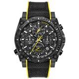 BULOVAブローバプレシジョニストクロノグラフクォーツメンズ腕時計送料無料98B312