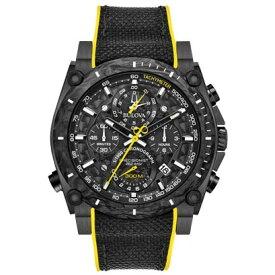 BULOVA ブローバ プレシジョニスト クロノグラフ クォーツ メンズ腕時計 送料無料 98B312 ラッピング無料 あす楽