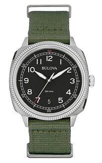 BULOVA Japan AE [Bulova] MILITARY [military] mens watch 96B229