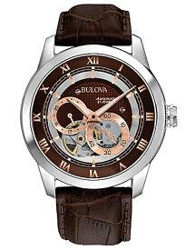 【送料無料】国内正規品 BULOVA[ブローバ] Automatic 96A120 メンズ腕時計 ラッピング無料