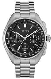 国内正規品 BULOVA ブローバ ムーンウォッチ UHFクォーツ搭載 メンズ腕時計 送料無料 96B258 ラッピング無料 あす楽