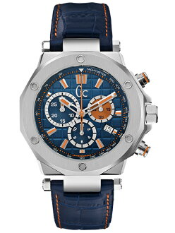 Domestic regular article Gc G C Papaya & Blue X72029G7S men watch