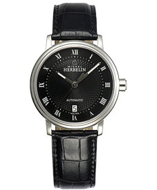 【10%OFFクーポン!11日21時〜19日14時59分まで!】 【24回払いまで無金利】 【送料無料】MICHEL HERBELIN [ミッシェル・エルブラン] メトロポール メンズ腕時計  1643/14