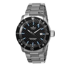 【豪華ノベルティ進呈】 正規品 EDOX エドックス クロノオフショア1 プロフェッショナル 自動巻き メンズ腕時計 送料無料 80099-33M-NIN3 ラッピング無料 【EDOX2021】