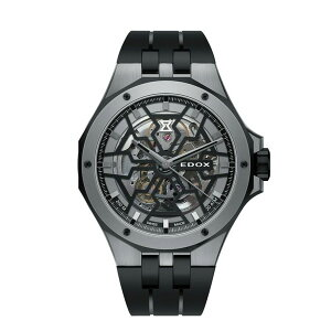 【クリスタルガードプレゼントは11月30日まで!】正規品EDOXエドックスDELFINデルフィンMECANOAUTOMATICメカノオートマティック自動巻きメンズ腕時計あす楽送料無料85303-357GN-NGN