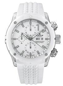 【豪華ノベルティ進呈】 正規品 EDOX エドックス CHRONOFFSHORE-1 クロノオフショア1 メンズ腕時計 送料無料 01122-3B1-BIN1-S ラッピング無料 【EDOX2021】 あす楽