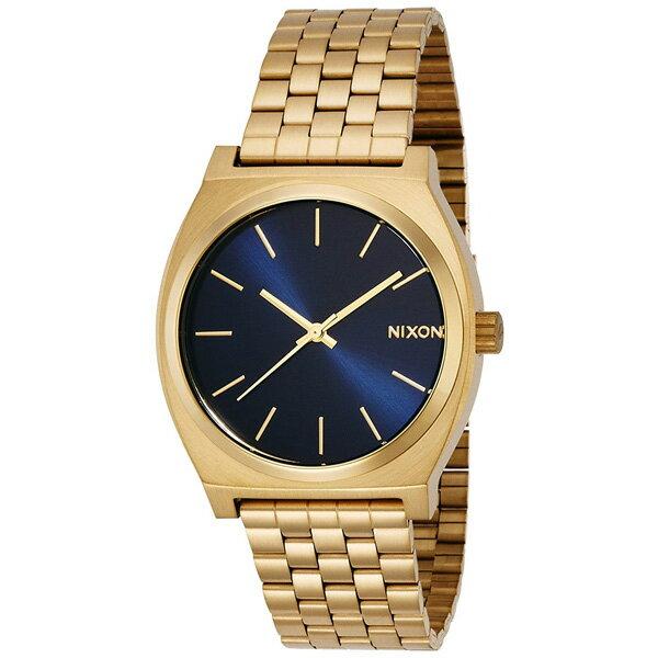 NIXON ニクソン TIME TELLER 国内正規品 メンズ腕時計 ALL LIGHT GOLD/COBALT 送料無料 NA0451931-00