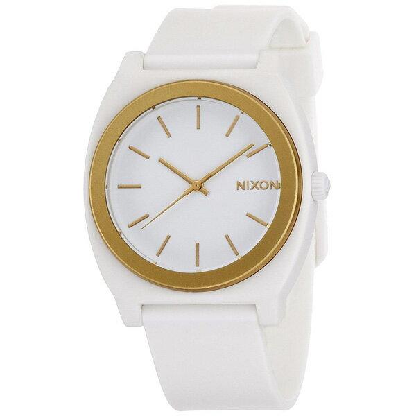 NIXON ニクソン TIME TELLER 国内正規品 メンズ腕時計 WHITE/GOLD ANO 送料無料 NA1191297-00 MQ