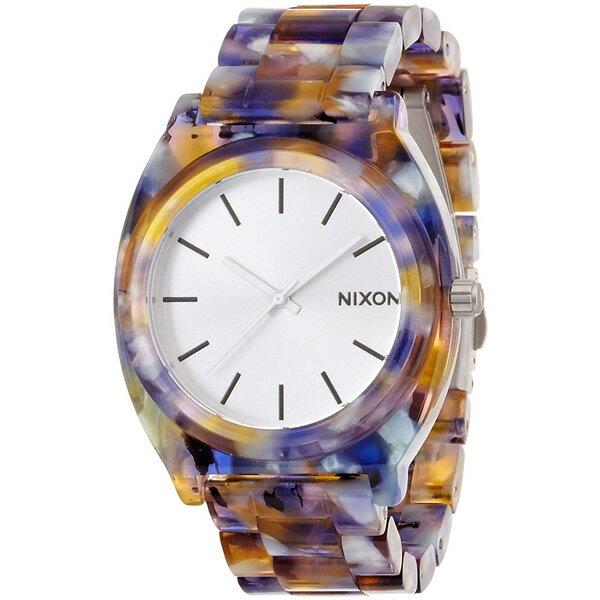 NIXON ニクソン TIME TELLER ACETATE 国内正規品 メンズ腕時計 WATERCOLOR 送料無料 NA3271116-00 MQ