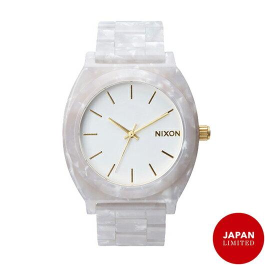 【送料無料】国内正規品 日本限定カラー NIXON ニクソン THE TIME TELLER ACETATE レディース腕時計 NA3272031-00【新品】【RCP】【02P12Oct14】