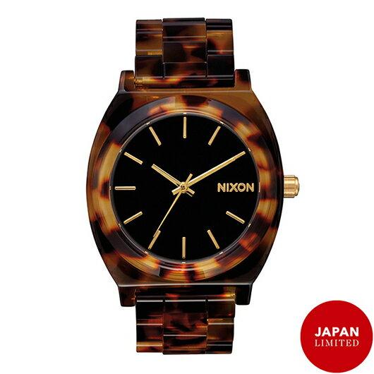 【送料無料】国内正規品 日本限定カラー NIXON ニクソン THE TIME TELLER ACETATE レディース腕時計 NA3272513-00【新品】【RCP】【02P12Oct14】