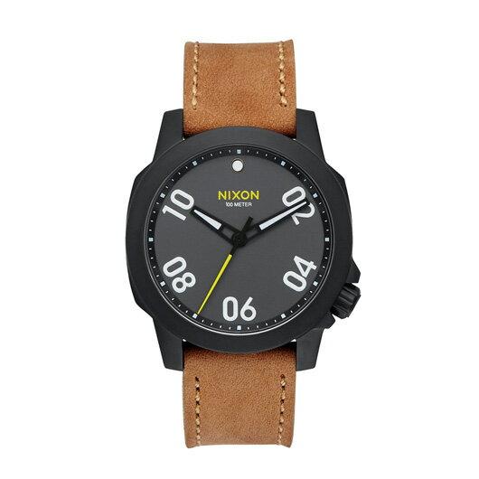【送料無料】国内正規品 NIXON ニクソン THE RANGER 40 LEATHER メンズ腕時計 NA4712093-00【新品】【RCP】【02P12Oct14】