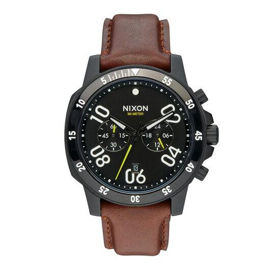 【送料無料】国内正規品 NIXON ニクソン THE RANGER CHRONO LEATHER メンズ腕時計 NA940712-00【新品】【RCP】【02P12Oct14】