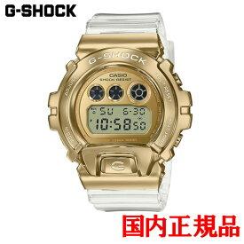 国内正規品 CASIO カシオ G-SHOCK METAL COVERED クォーツ メンズ腕時計 GM-6900SG-9JF