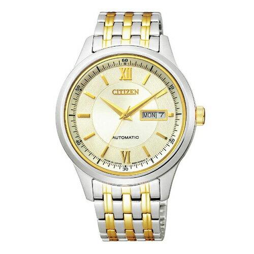 【送料無料】シチズンコレクション メカニカル ペア メンズ腕時計 NY4054-53P