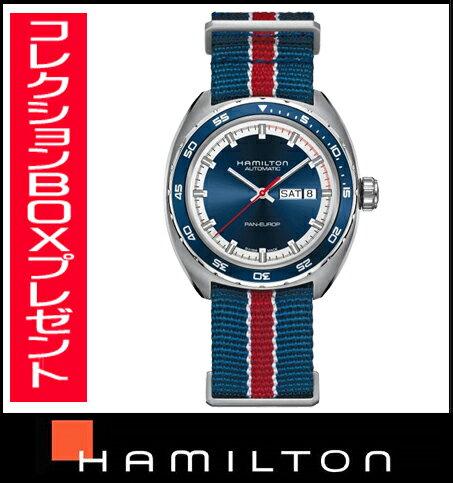 国内正規品【送料無料】HAMILTON ハミルトン アメリカンクラシック パン ユーロ H35405941 メンズ腕時計  【新品】【RCP】【P08Apr16】
