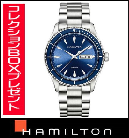 国内正規品【送料無料】 HAMILTON ハミルトン ジャズマスター シービュー メンズ腕時計 H37551141【新品】【RCP】【P08Apr16】