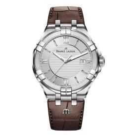 正規品 MAURICE LACROIX モーリスラクロア アイコン デイト 42mm クォーツ メンズ腕時計 送料無料 AI1008-SS001-130-1 【MIO】