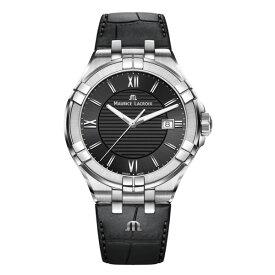 正規品 MAURICE LACROIX モーリスラクロア アイコン デイト 42mm クォーツ メンズ腕時計 送料無料 AI1008-SS001-330-1 【MIO】
