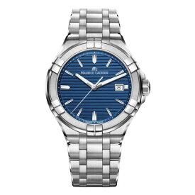 正規品 MAURICE LACROIX モーリスラクロア アイコン デイト 42mm クォーツ メンズ腕時計 送料無料 AI1008-SS002-431-1 【MIO】