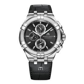 正規品 MAURICE LACROIX モーリスラクロア アイコン クロノグラフ 44mm クォーツ メンズ腕時計 送料無料 AI1018-SS001-330-1 【MIO】