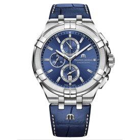 正規品 MAURICE LACROIX モーリスラクロア アイコン クロノグラフ 44mm クォーツ メンズ腕時計 送料無料 AI1018-SS001-430-1 【MIO】