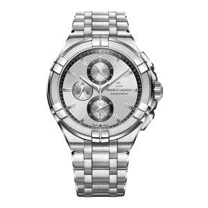 正規品MAURICELACROIXモーリスラクロアアイコンクロノグラフ44mmクォーツメンズ腕時計送料無料AI1018-SS002-130-1
