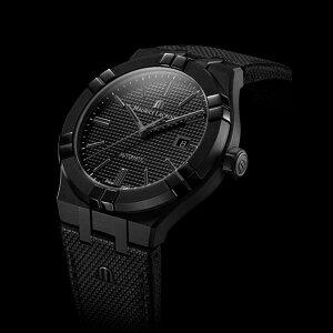 正規品MAURICELACROIXモーリスラクロアアイコンオートマチックブラック42mm自動巻きメンズ腕時計送料無料AI6008-PVB01-330-1【MIO】