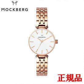 MOCKBERG モックバーグ Original 28 / IPRG cross-linked strap white dial レディース腕時計 送料無料 MO517 ラッピング無料