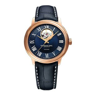 RAYMONDWEILレイモンド・ウェイルマエストロオープンハート自動巻きメンズ腕時計クロコ型押しカーフ日本限定国内正規品あす楽送料無料2227-PC5-00508敬老の日ギフト