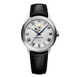 RAYMONDWEILレイモンド・ウェイルマエストロオープンハート自動巻きメンズ腕時計クロコ型押しカーフ国内正規品あす楽送料無料2227-STC-00659敬老の日ギフト