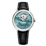 RAYMONDWEILレイモンド・ウェイルマエストロオープンハートブラックマザーオブパール自動巻きメンズ腕時計ステンレススチール日本限定国内正規品あす楽送料無料2227-STC-97201敬老の日ギフト